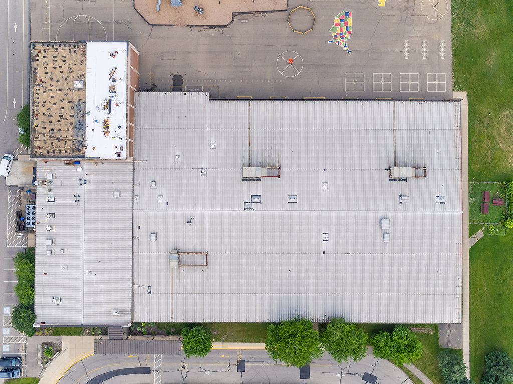 Public School Roofing Project